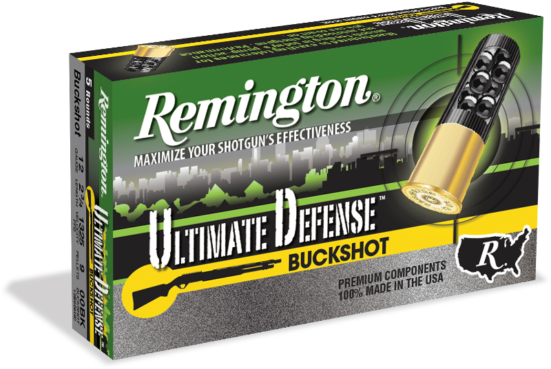 Ultimate Defense buckshot Remington