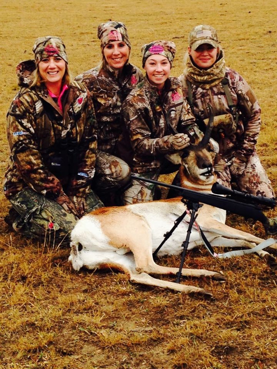 My daughter Samanthas first antelope