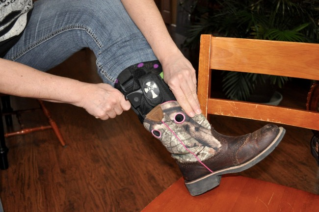Wearing-Crossbreed-ankle-holster