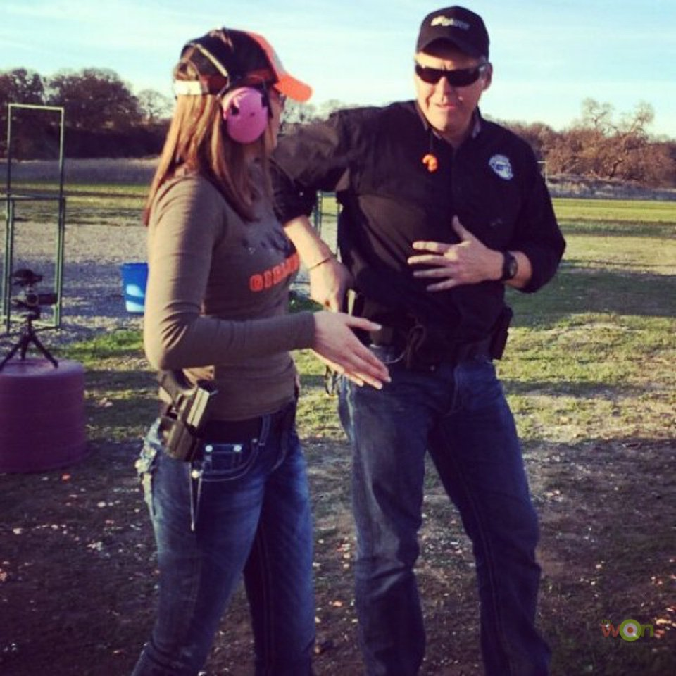Callie Firearms Training - Callahan Wolverton - March 2018