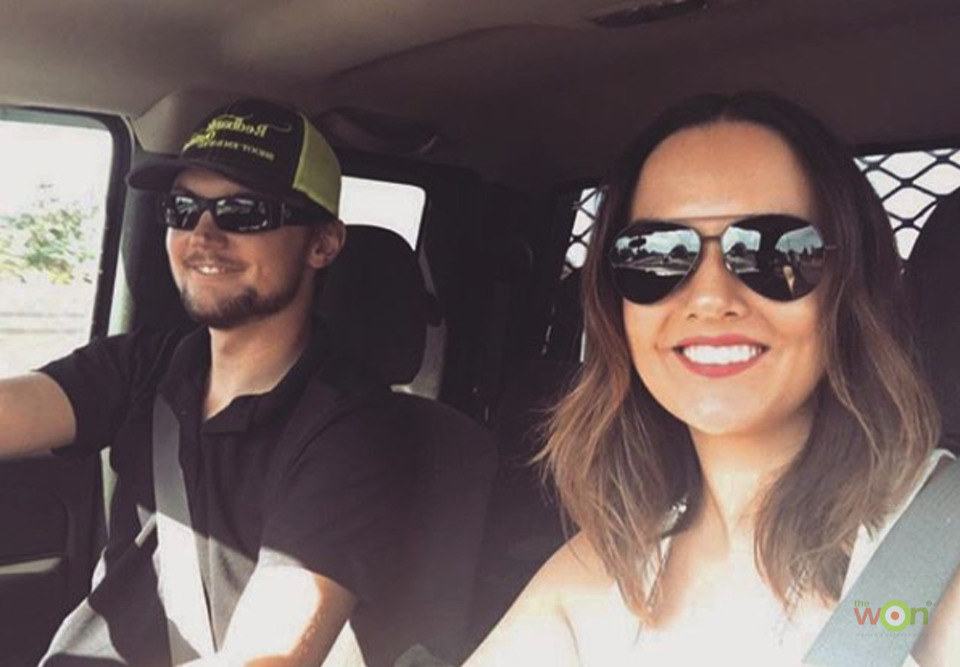 Callie & Jake Driving - Callahan Wolverton - March 2018