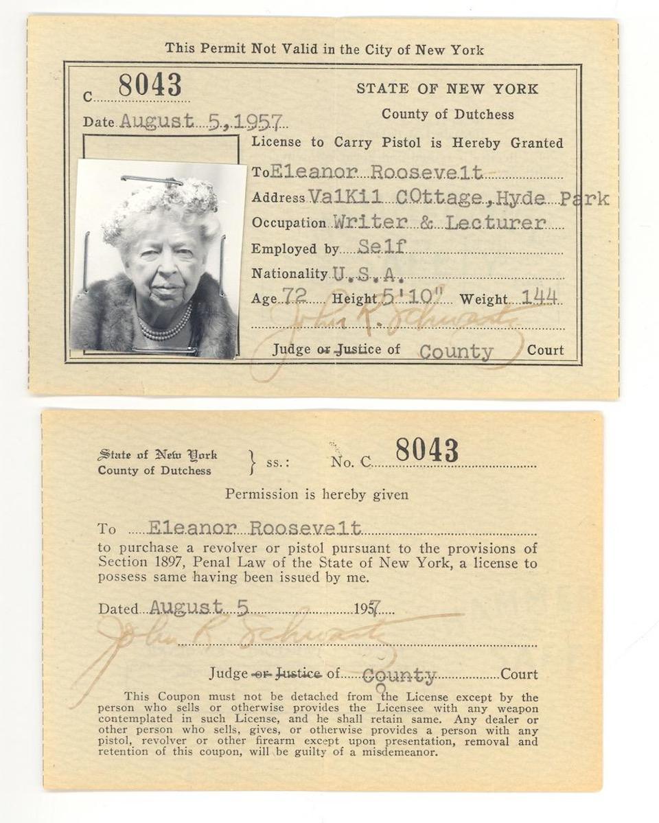 Eleanor-Roosevelt-pistol-Permit