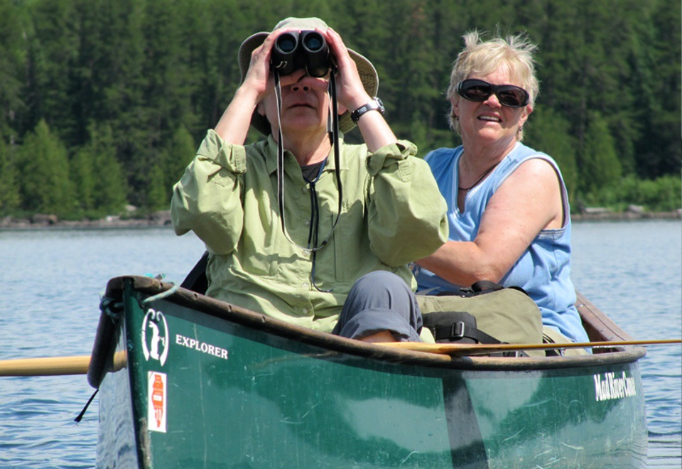 Canoe trip Chris Heeter