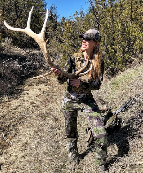 Julie McQueen elk shed