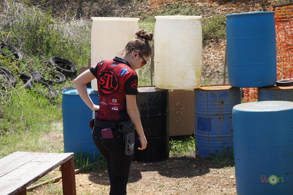 Cheyenne Dalton Competing