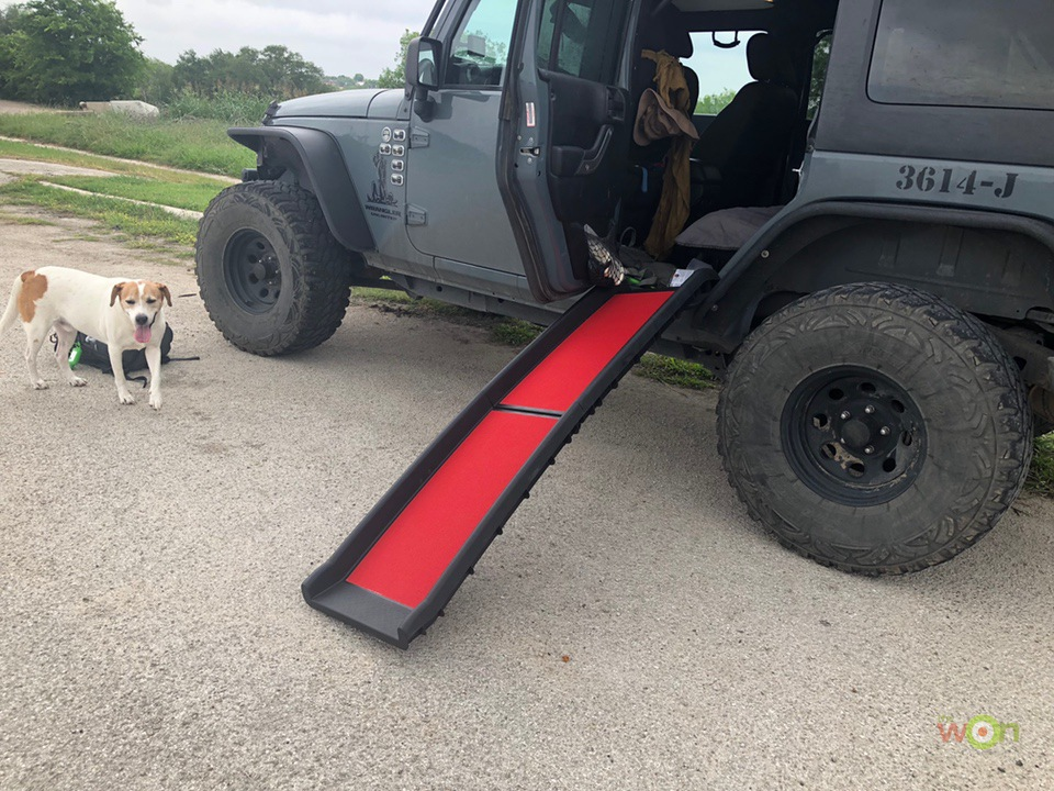 Extreme-Terrain-Kurgo-Pet-Ramp-Backseat Pet Ramp