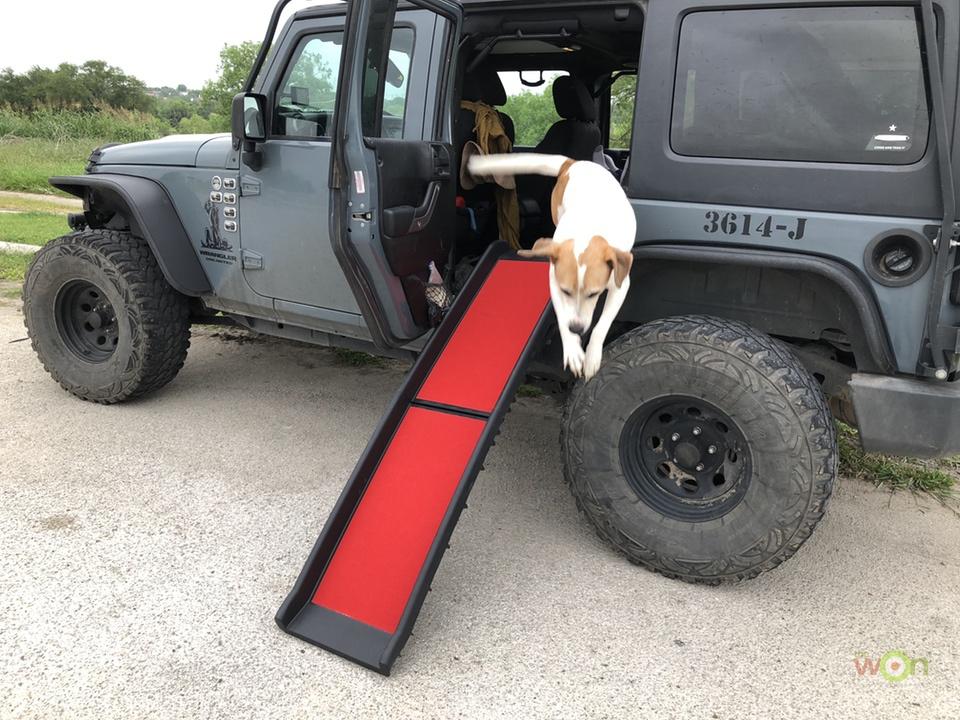 Extreme-Terrain-Kurgo-Pet-Ramp-Dog2- Pet Ramp