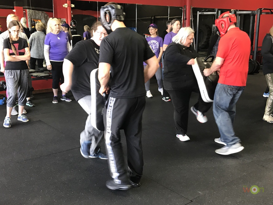 Krav_Maga_Knee_Groin_Stacy_Bright Krav Maga