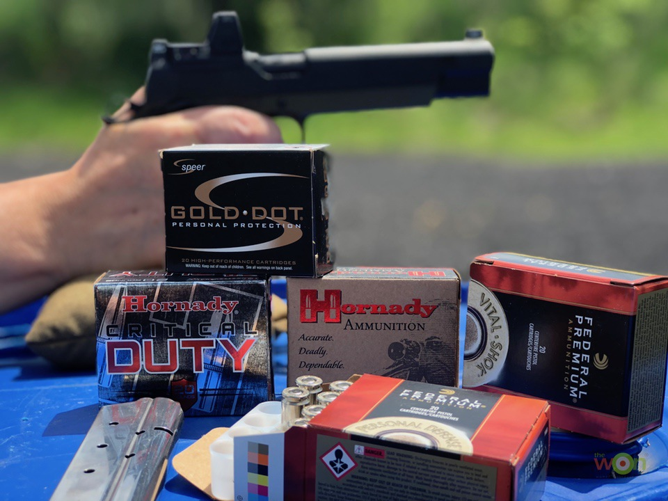 Springfield Armory TRP 10mm RMR ammo