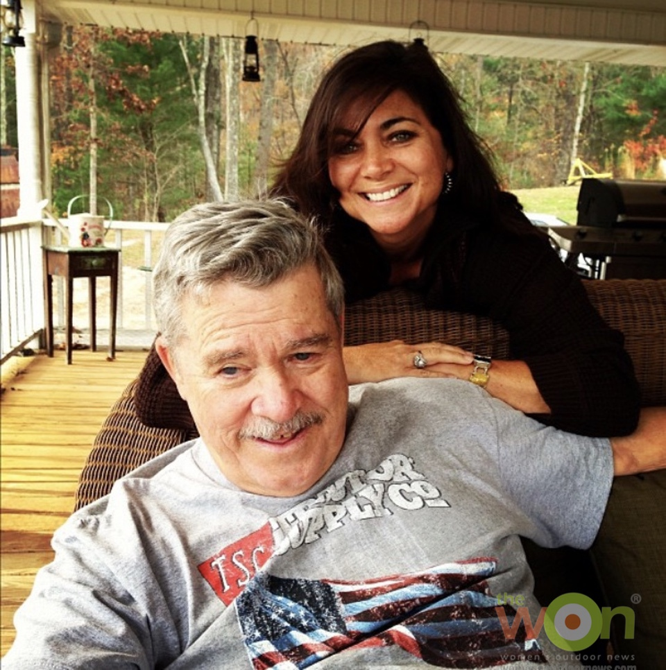 Cheryl Todd and dad