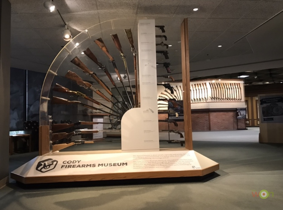 Cody Firearms Museum Display