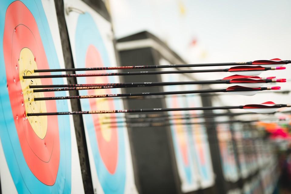 US Archery target Geri Woessner