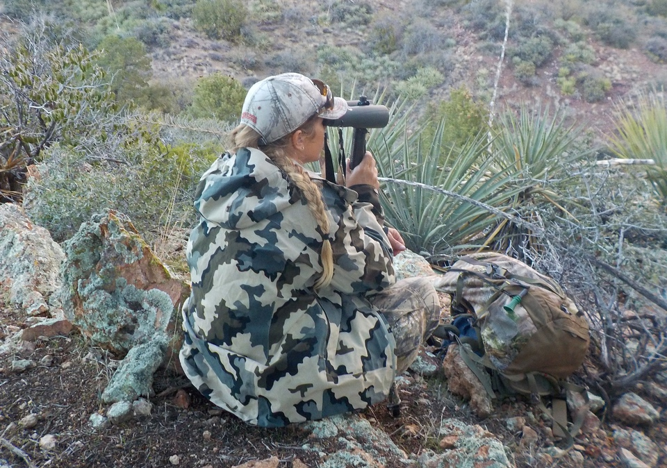 glassing cous deer in AZ Christina Boggs