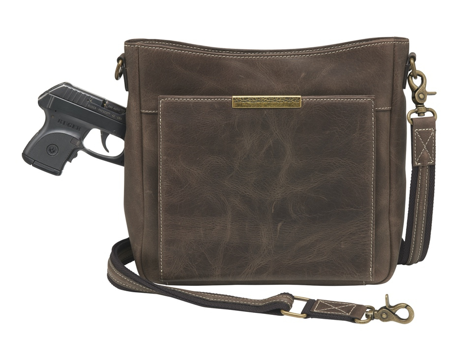Gun Tote'n Mamas distressed buffalo CCW