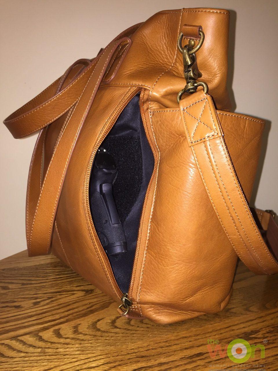 Gun Tote N Mamas Leather Chic Diaper Bag
