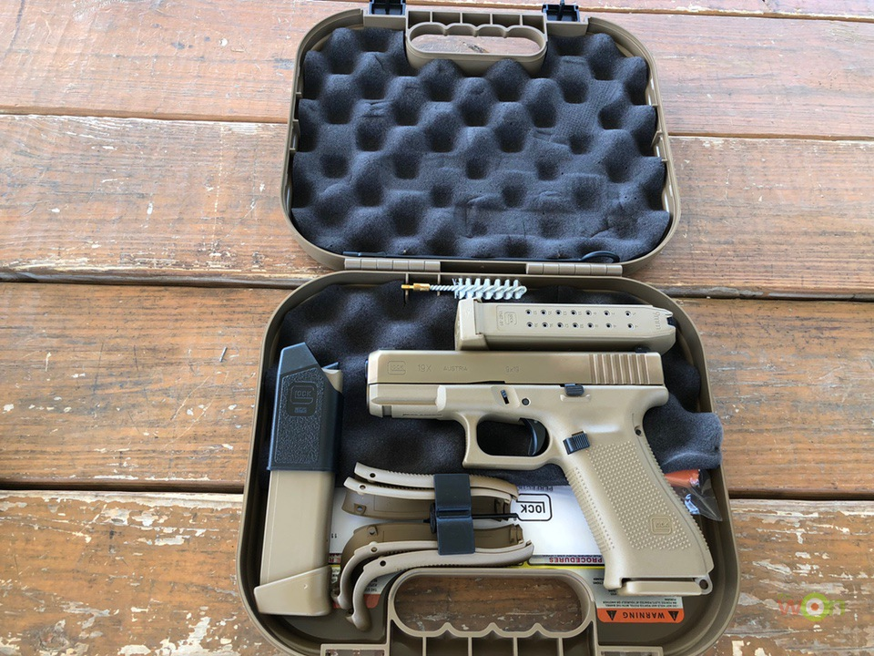 Glock 19x Review Unboxing crossover pistol