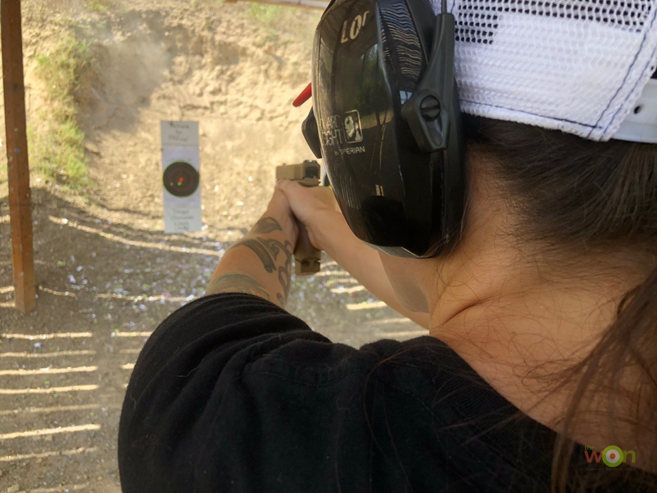 Glock19x Review Shooting