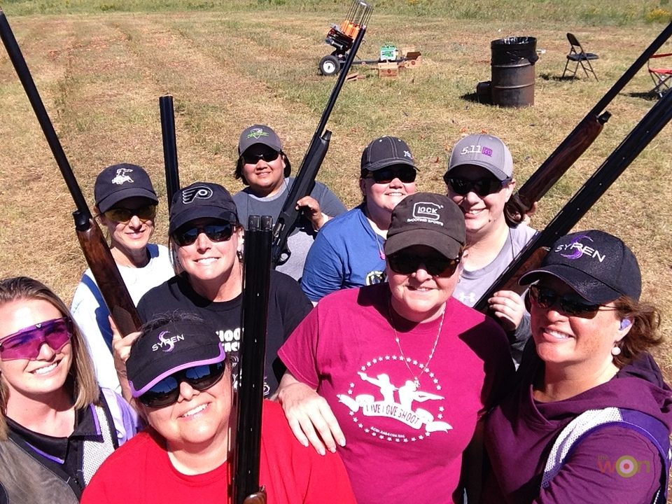 Lynne Green Training shotgun students
