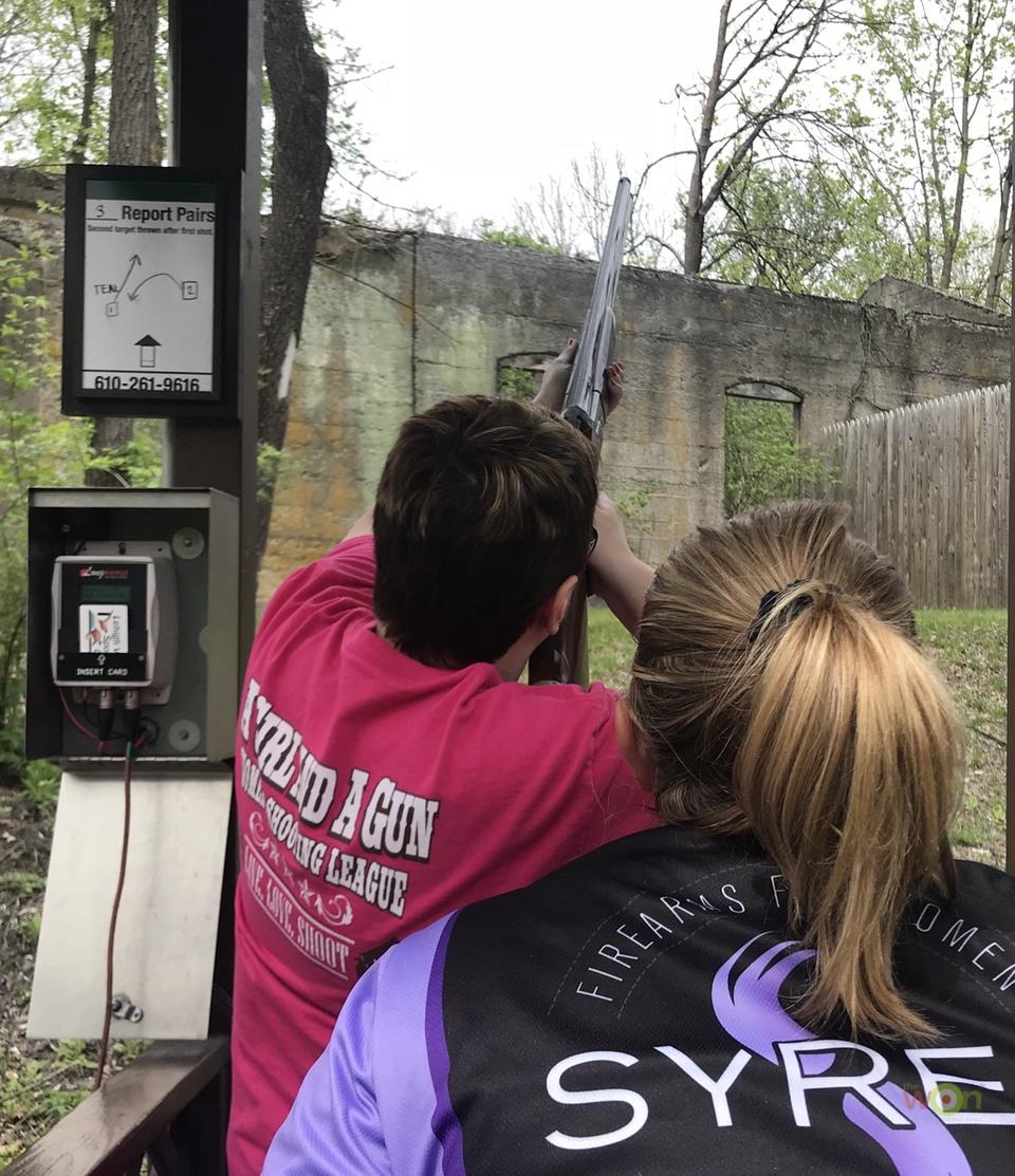 Dorothea instructing shotgun