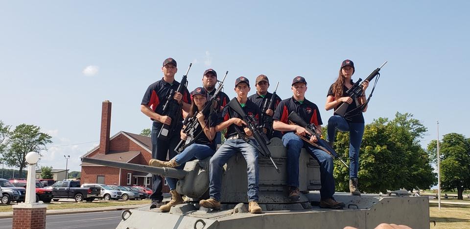 McKenna Beckham shooting team