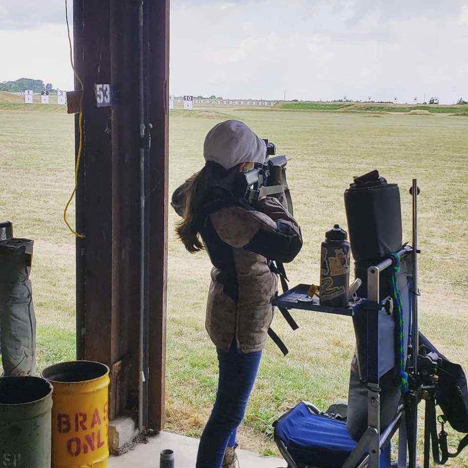 McKenna Beckham Shooting Camp Perry