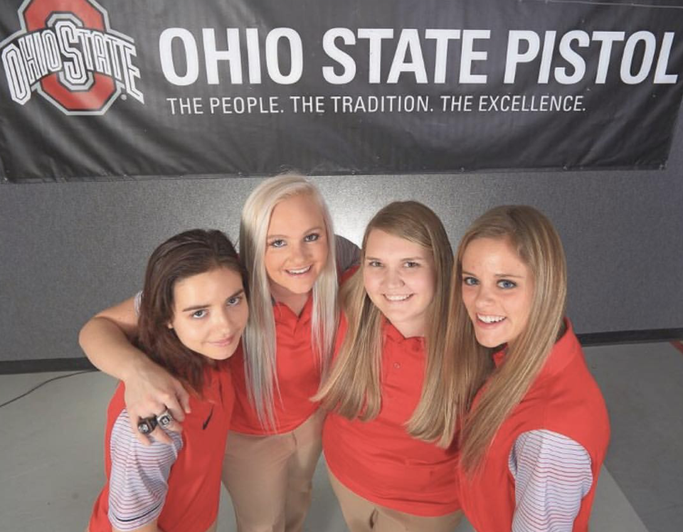 Ohio State Pistol Team Girls