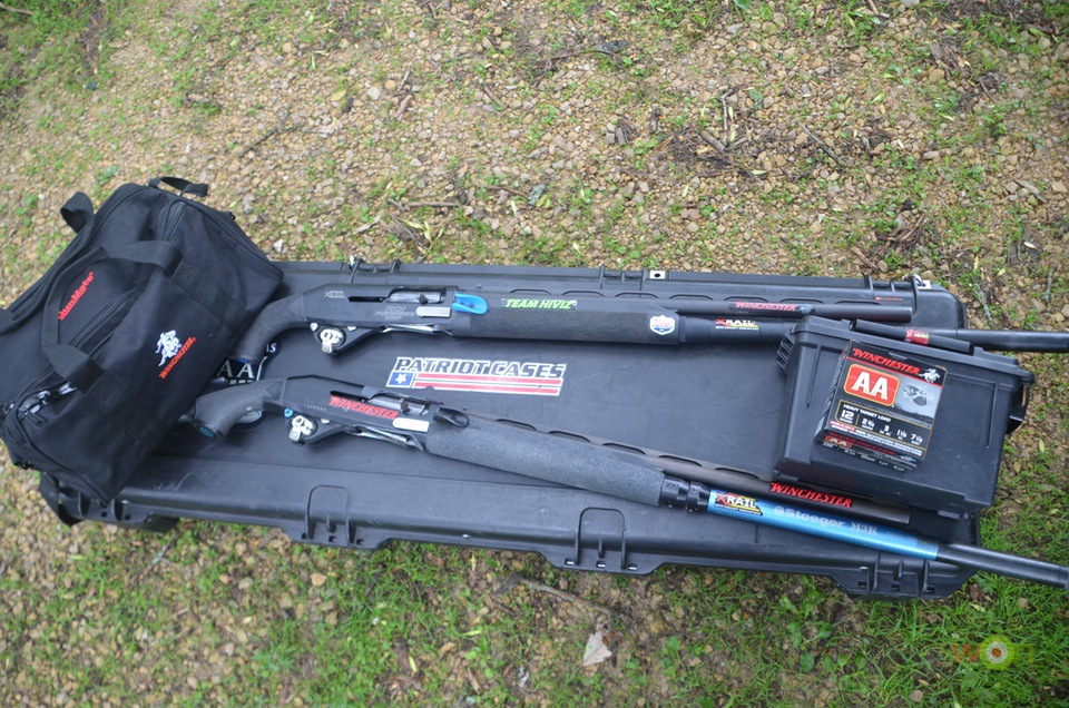 Travel gear- hard case, range bag, ammo box, trigger locks Hunting Gear
