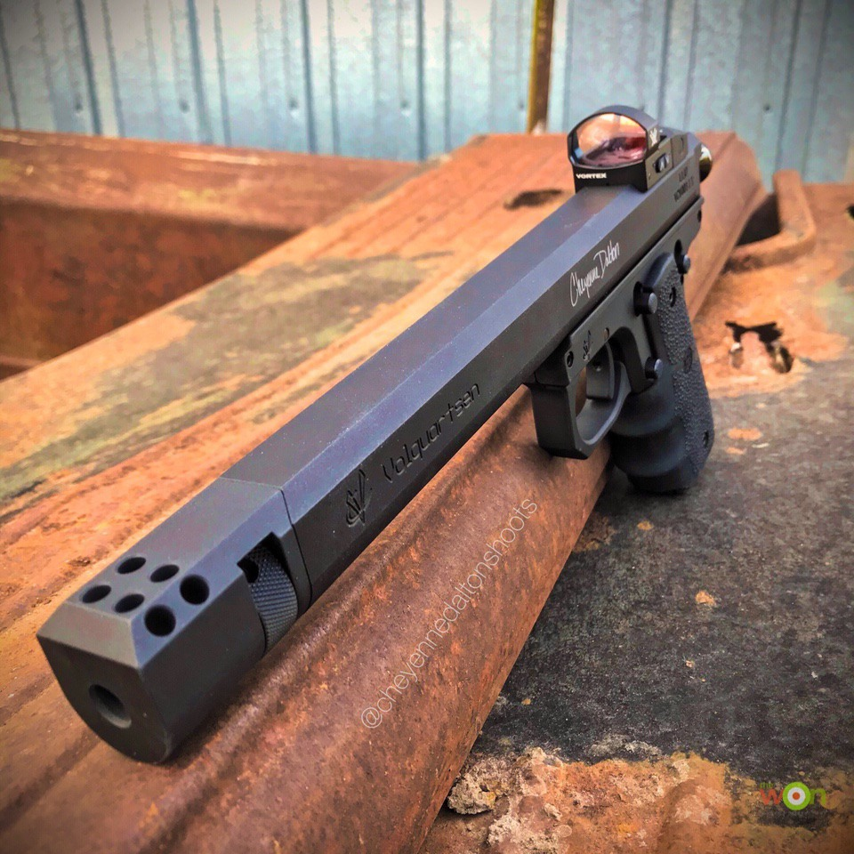 Cheyenne Volquartsen pistol