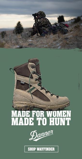 Danner Wayfinder Boots Made for women, made to hunt.