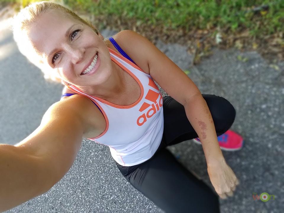 Becky running
