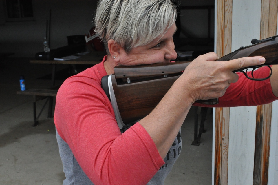 Cerino CZ shotgun fit comb