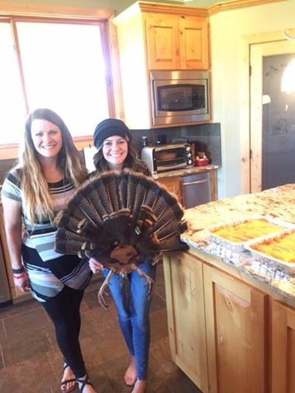 GWG Turkey Fan turkey enchiladas