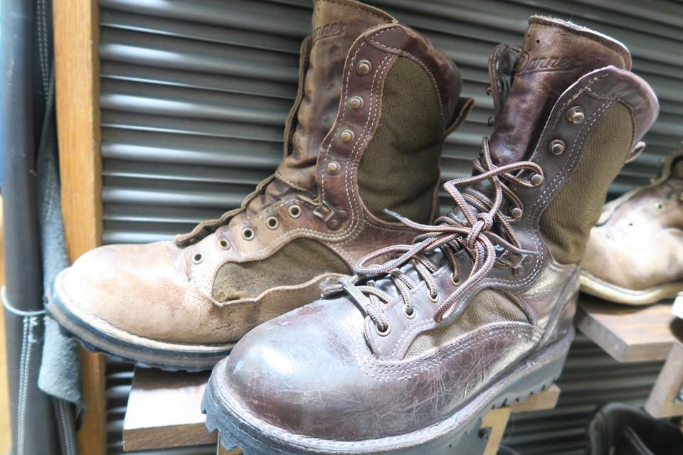 recrafting danner boots