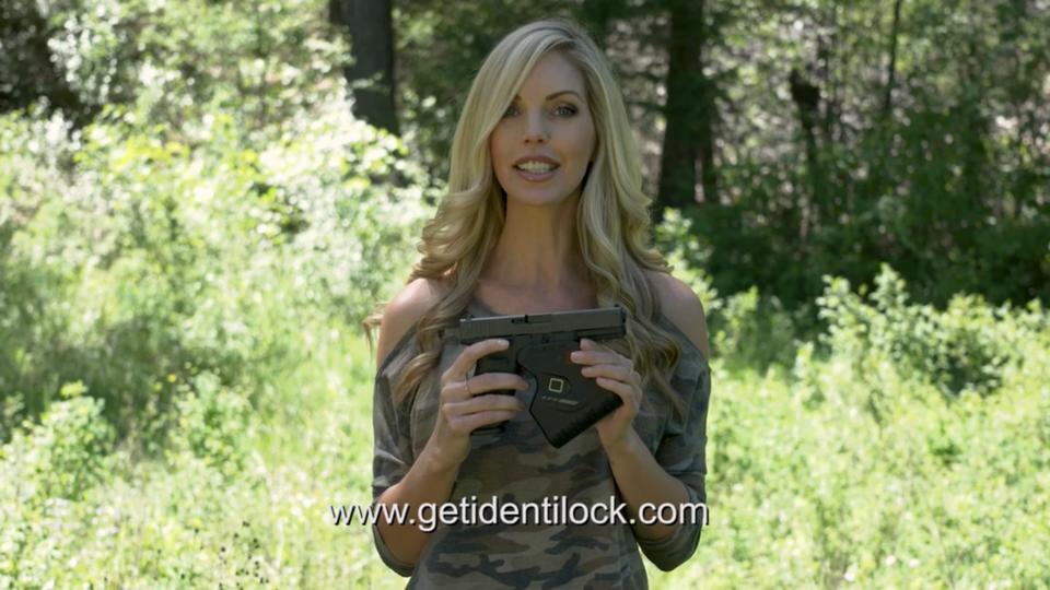Jules McQueen for Identilock gun safety