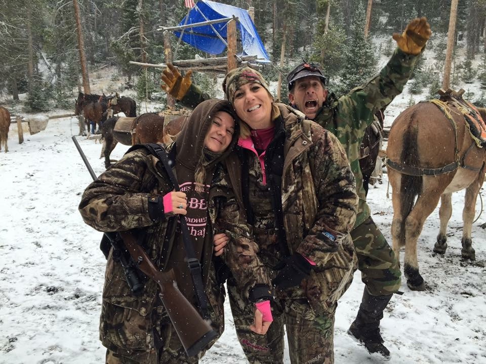 Sisterhood Of The Outdoors Elk Camps Year 1 cow trip 2