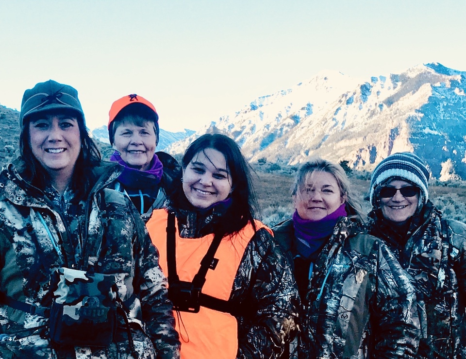 Sisterhood Of The Outdoors Elk Camps Year 3 group cow trip