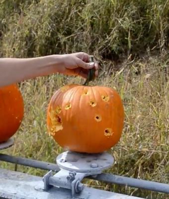 pumpkin shooting feature