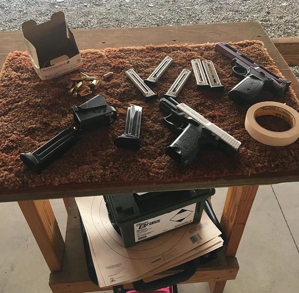 Beth Baumann guns