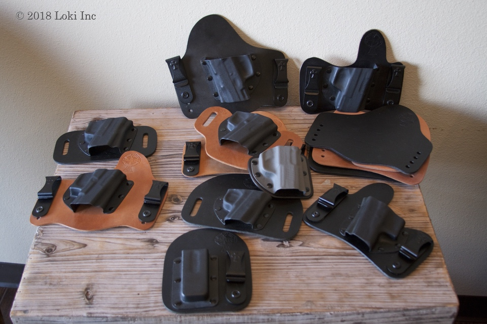 Crossbreed holsters assortment