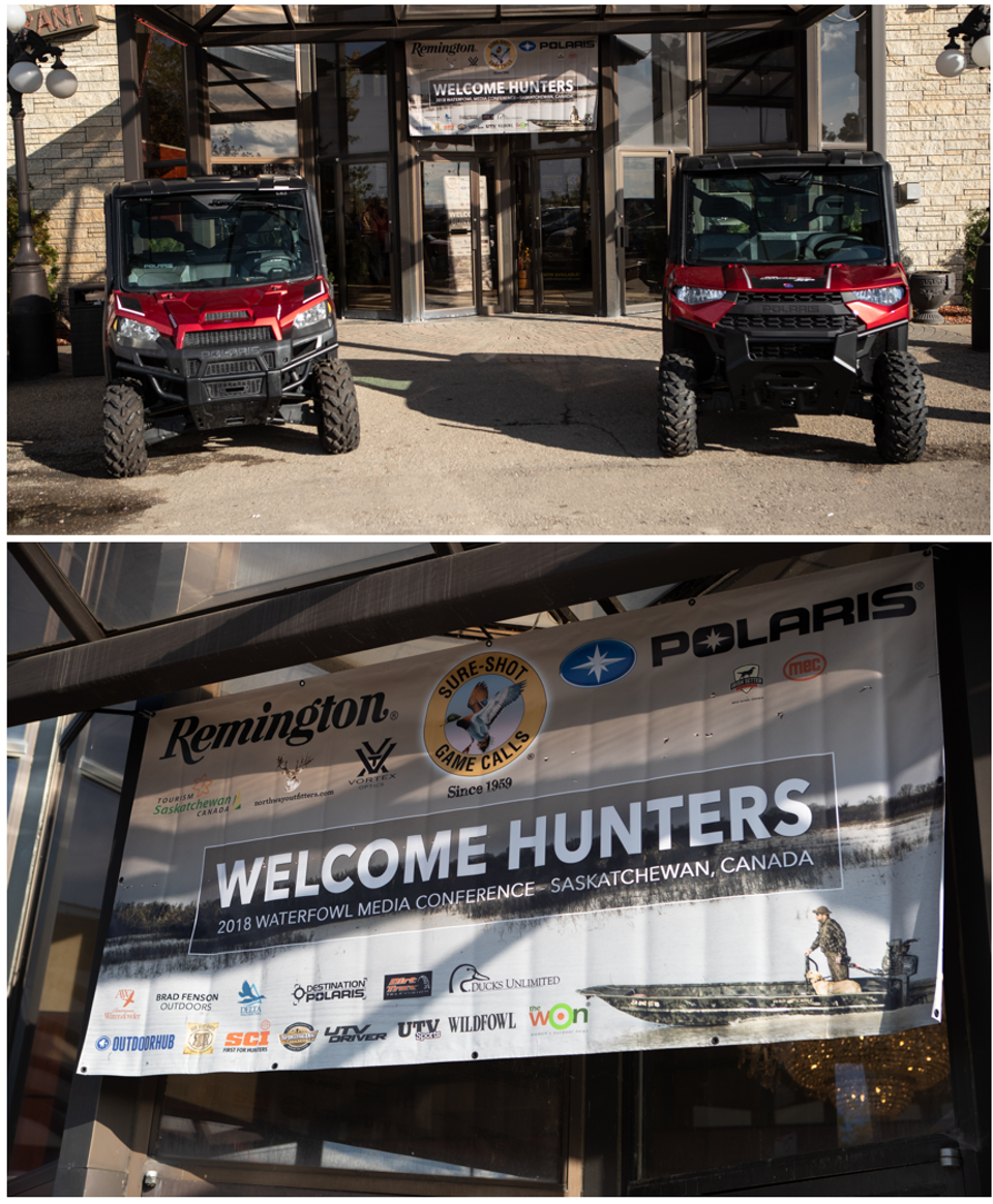 Hollis Lumpkin Media Hunt Welcome Hunters 2018 Waterfowl Media Hunt in Saskatchewan