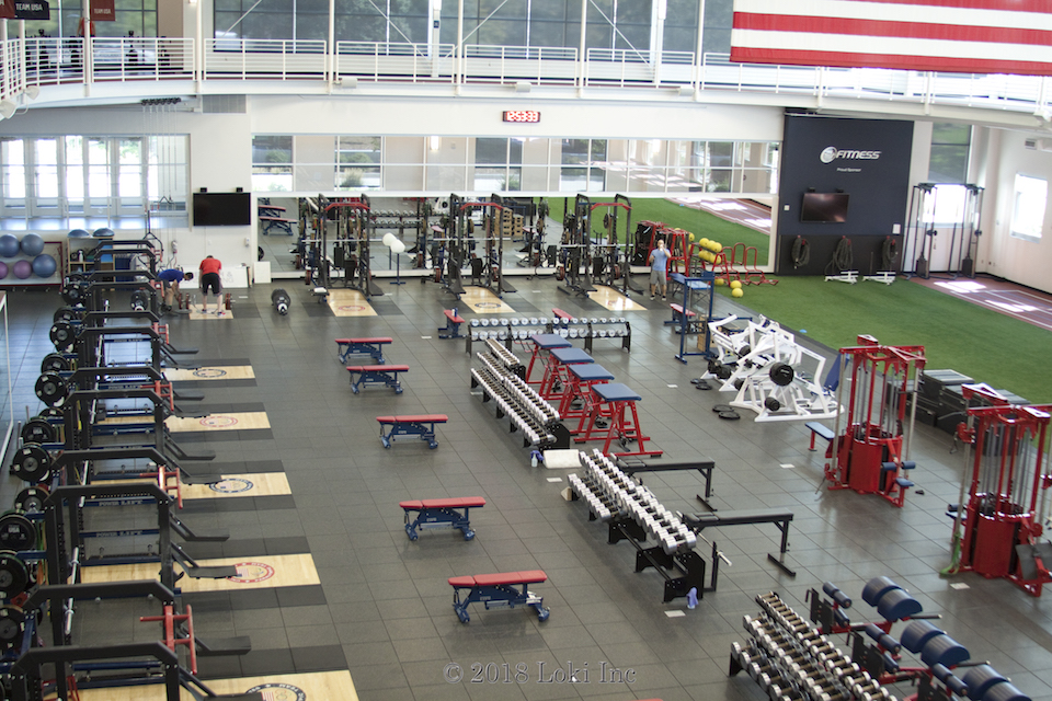 Olympic Training Center gym
