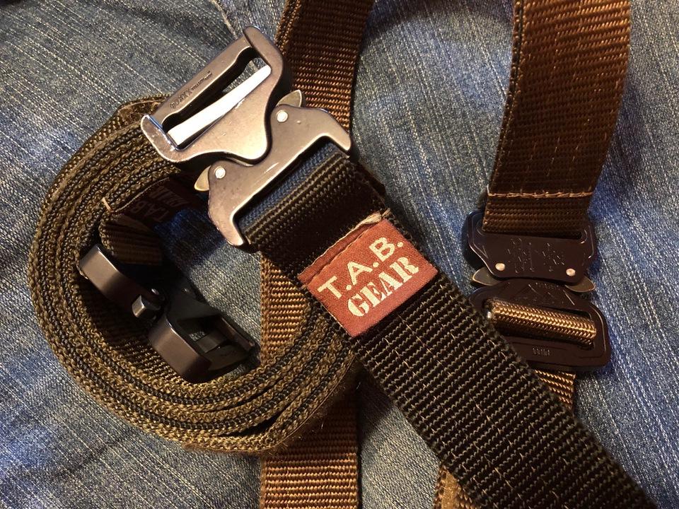 TAB belt cerino EDC