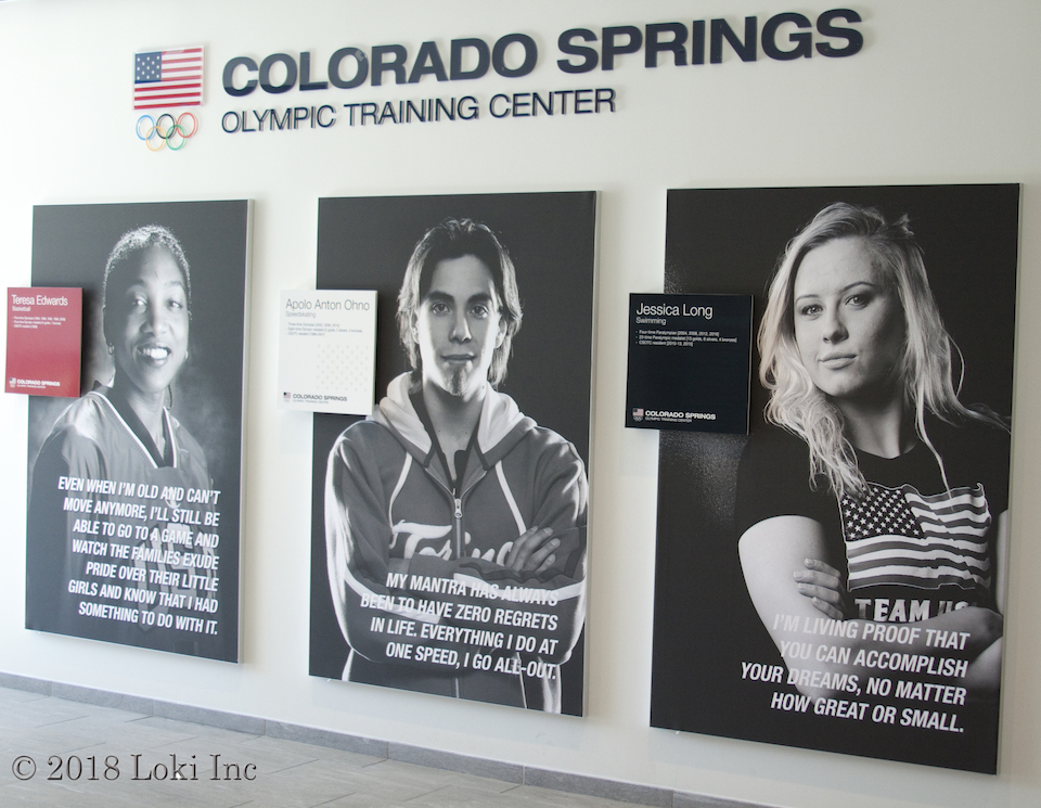 posters Olympic training center