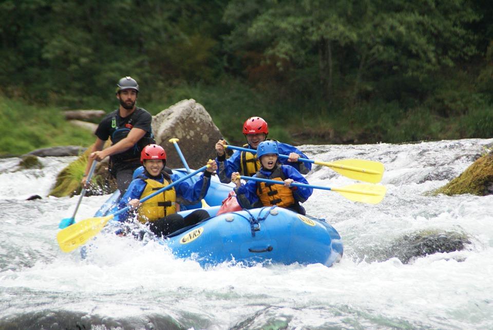 white water rafting vera koo