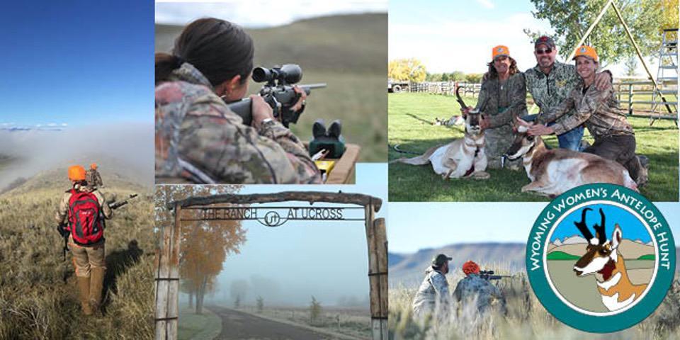 wyoming womens antelope hunt