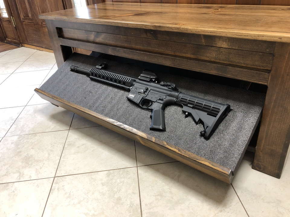 Liberty Concealment Hall Bench