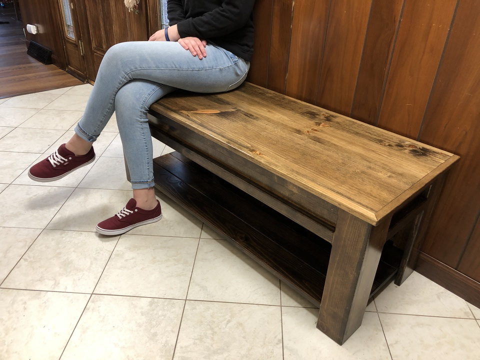 Liberty Concealment Hall Bench