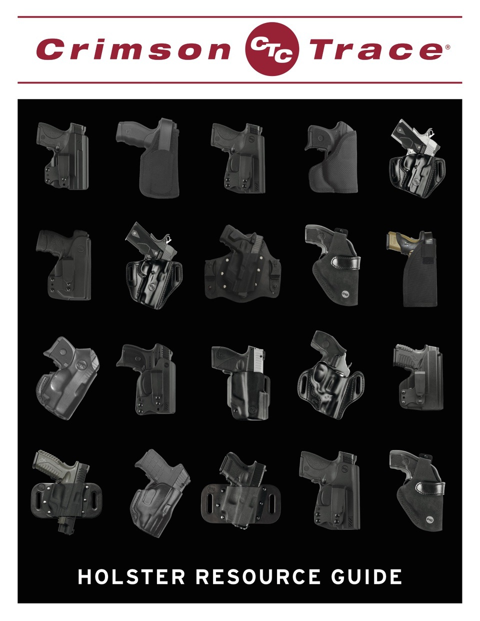 Crimson Trace Holster Resource Guide