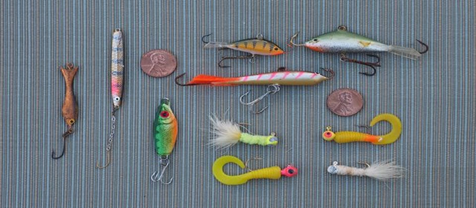 Ice-fishing-rigs Artificial Bait for Ice Fishing: Vertical Lures that Work