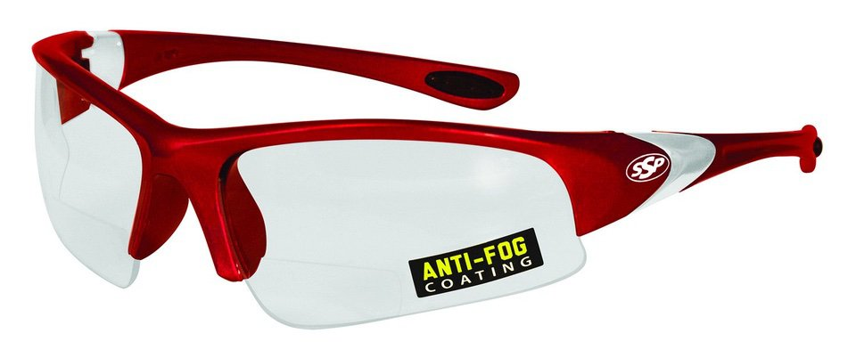 SSP red safety eyewear